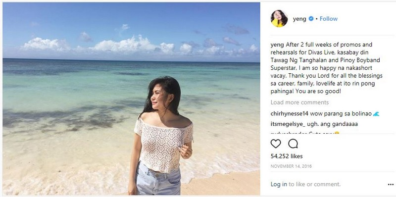 LOOK: Yeng shows some skin and we are shookt!