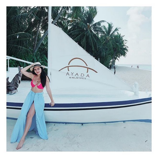 Missing Bela Padilla on It's Showtime? Here are some photos enjoying her vacation!