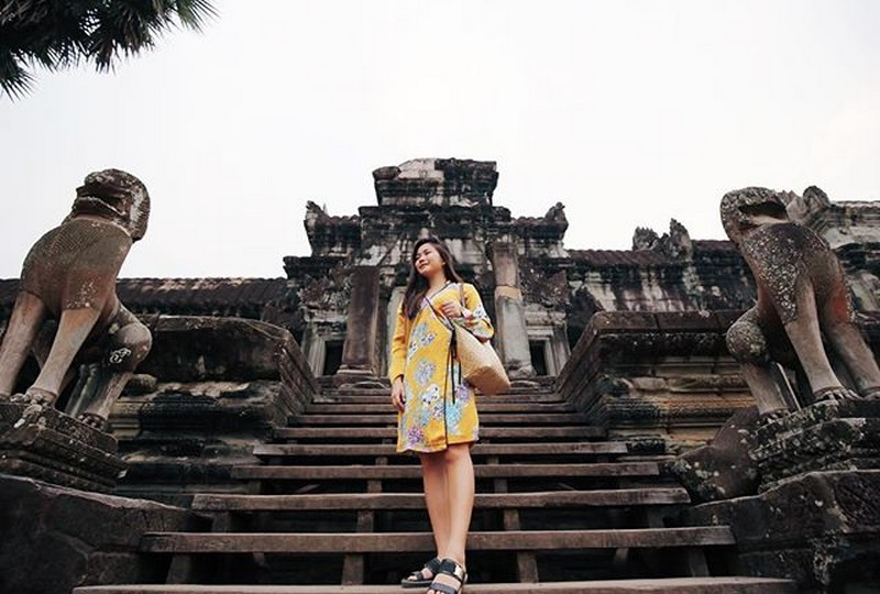 IN PHOTOS: This is how hurado Yeng enjoyed her vacation in Cambodia