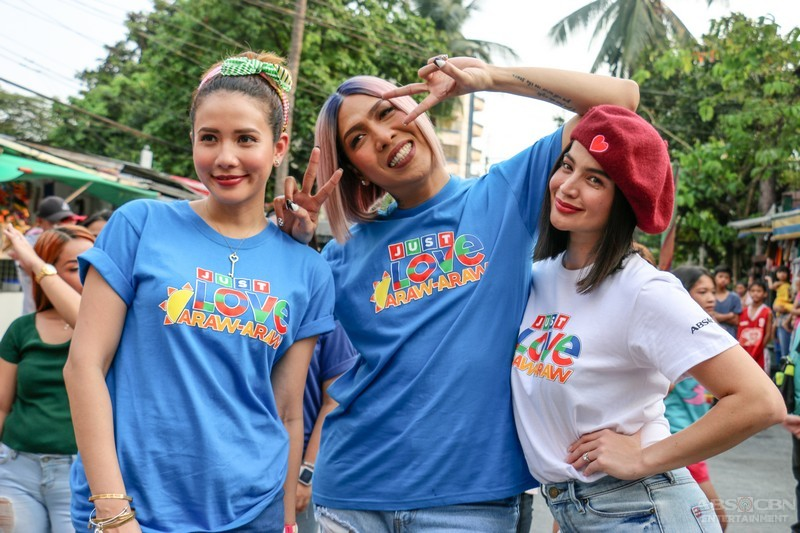 PHOTOS: Just Love Araw-Araw With It's Showtime Family