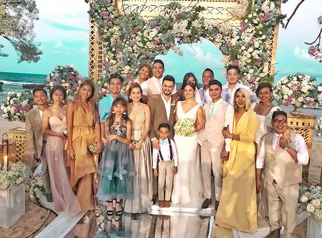 IN PHOTOS: It's Showtime's Billy and Coleen's wedding in Balesin!