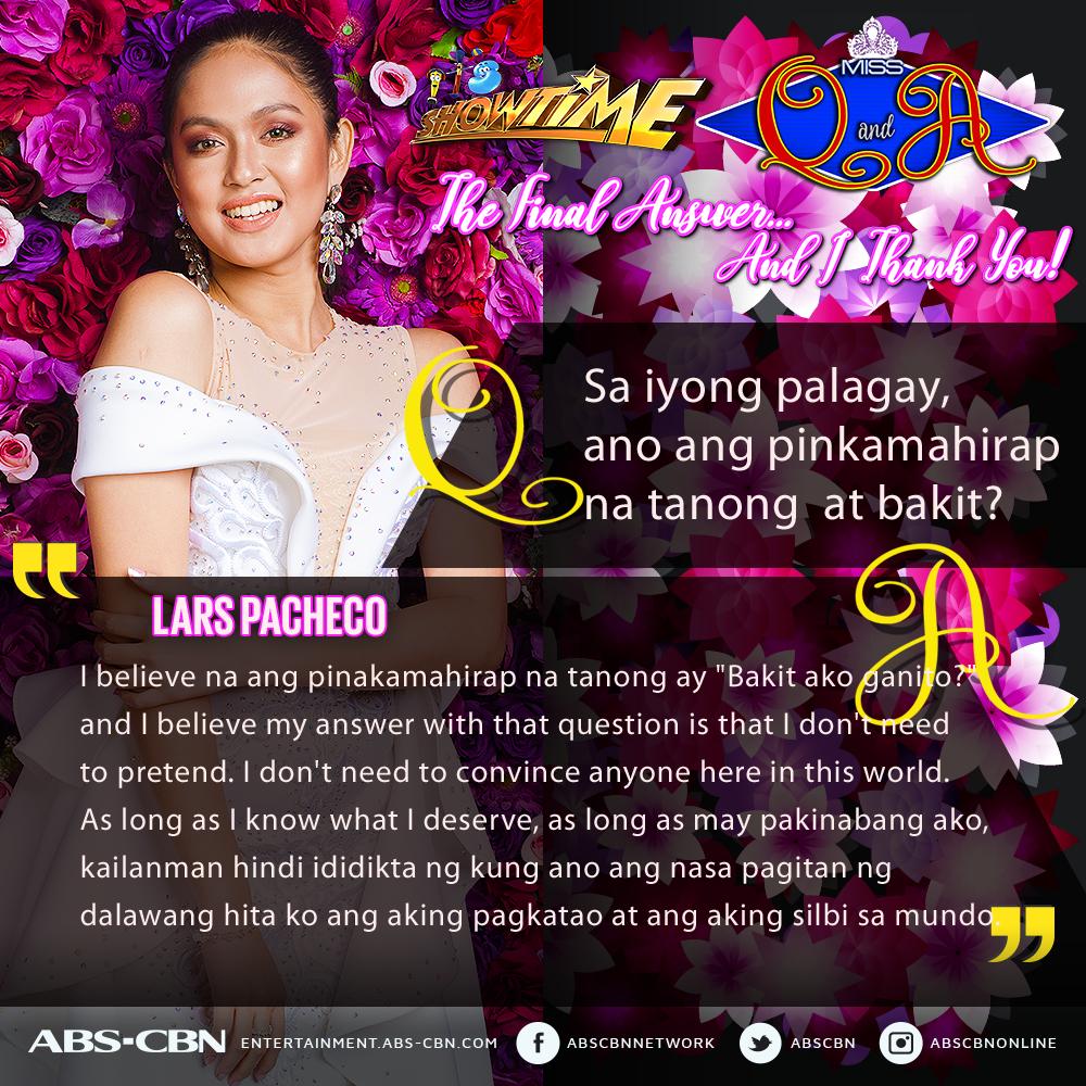 """Miss Q & A Top 3 Grand Finalists answer """"Ano ang pinakamahirap na tanong?"""""""