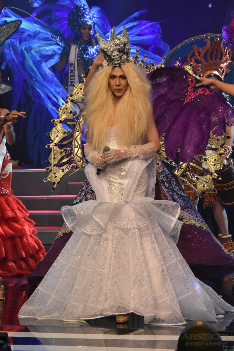 IN PHOTOS: Vice Ganda's 'ka-vogue' OOTDs at the Miss Q & A Grand Finals