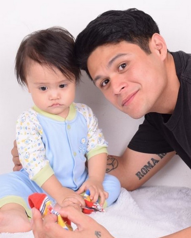 LOOK: Former Hashtag Jon with his 1 year old son Brycen