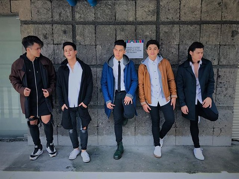 BOYS WILL ALWAYS BE BOYS; Hashtags off-cam kulitan bonding