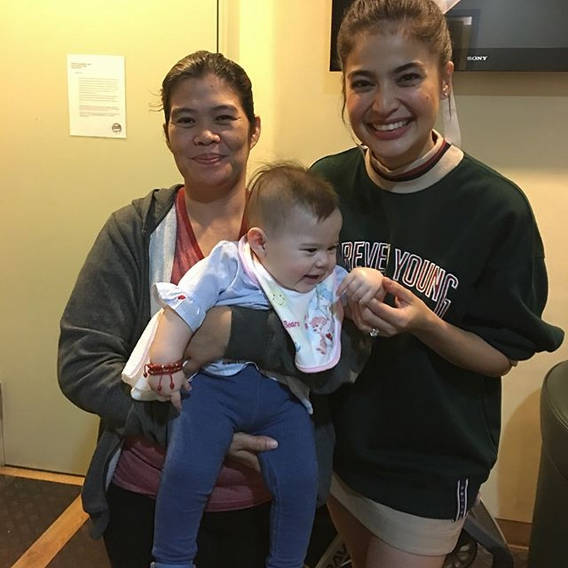 LOOK! Baby Malia meets It's Showtime's Vice Ganda and Anne Curtis!