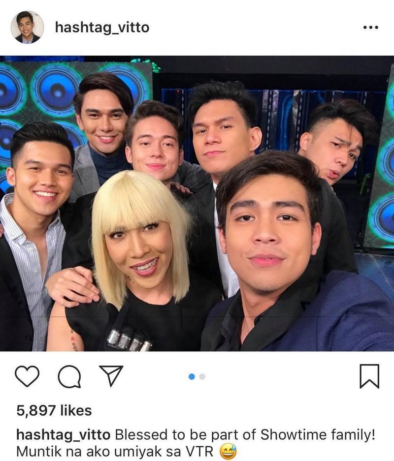 Mga Litrato na magpapakita kung gaano kalapit ang puso ni Vice Ganda sa mga Hashtags