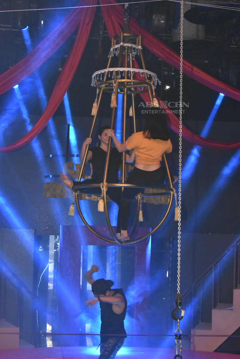 """IN PHOTOS: How Team Anne and Mariel pulled off """"buwis-buhay"""" circus-like Magpasikat 2018 performance"""