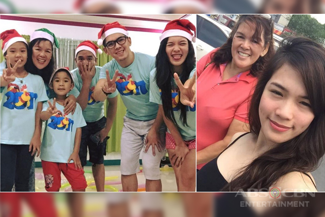 It's Showtime's Ate Girl Jackque with her supportive family in these photos!
