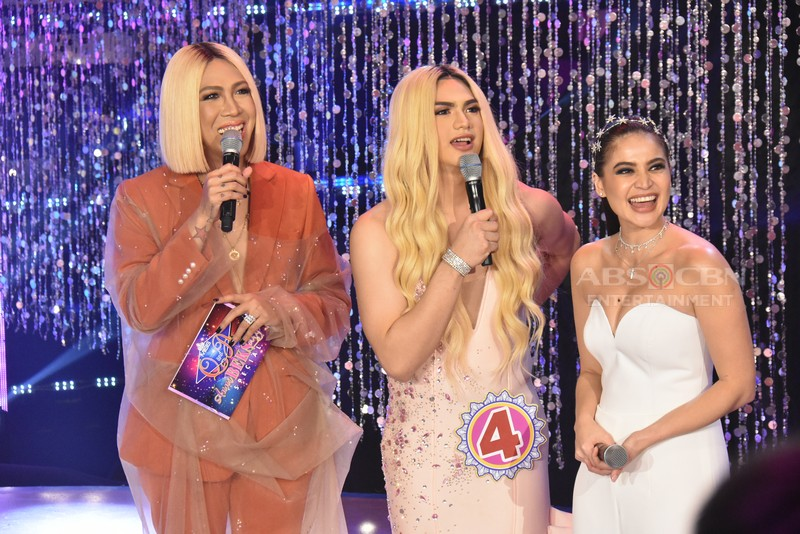 LOOK: Jhong, Jugs, Teddy, Nikko and Kid's beautiful transformation in Miss Q & A Anni-BEKS-ary Special