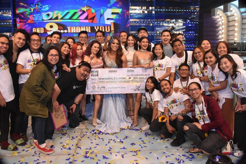 WINNING MOMENTS: Team Karylle-Jhong is Magpasikat 2018 Grand Champion