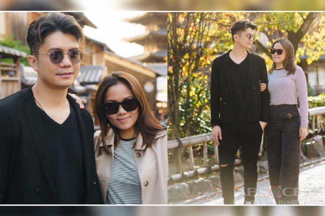 Proud boyfie! 12 photos of Vhong with his long-time girlfriend slash 'Halik' writer Tanya Winona