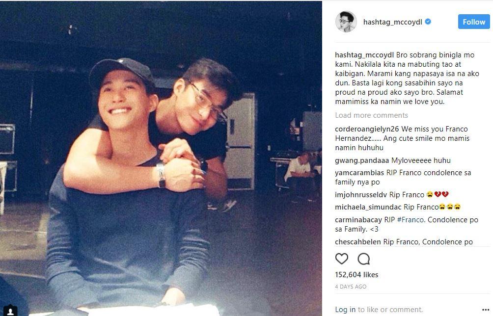 IN PHOTOS: Balikan ang mga ala-ala nang yumaong si Franco Hernandez kasama ang mga miyembro ng Hashtags!