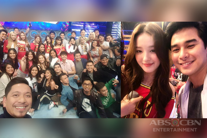 SELFIE! It's Showtime family with Momoland!