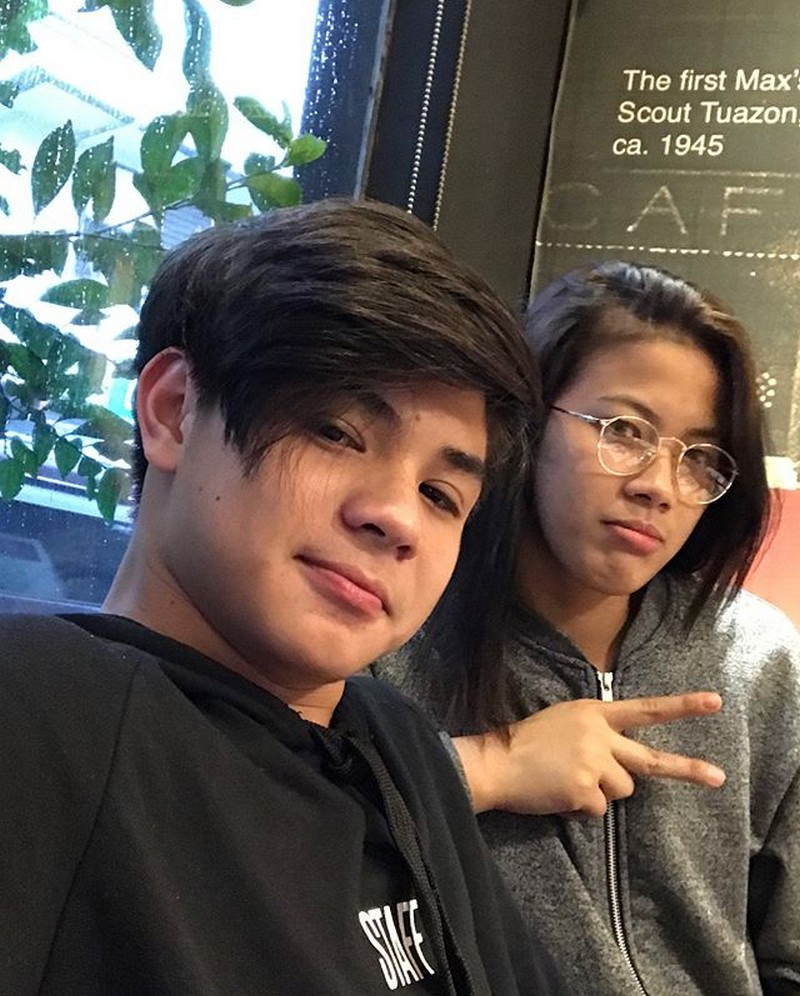 "12 photos of former Hashtag Bugoy with his ""Idol"""