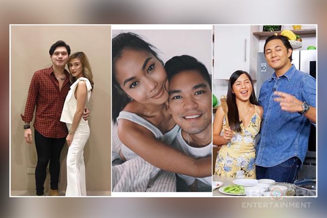 Mga litrato ng Girltrends kasama ang kanilang mga ka-date ngayong Valentine's day