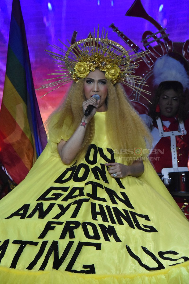 Unkabogable! All the beautifully bizarre outfits of Vice Ganda that caused a stir in the 2019 Miss Q & A Grand Finals