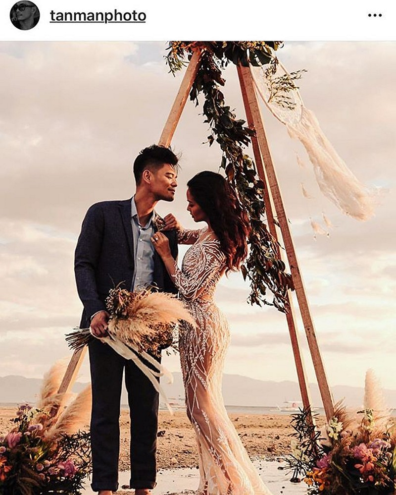 WOW! Are these the prenup photos of Girltrend Mica with her soon to be husband Jay-R?