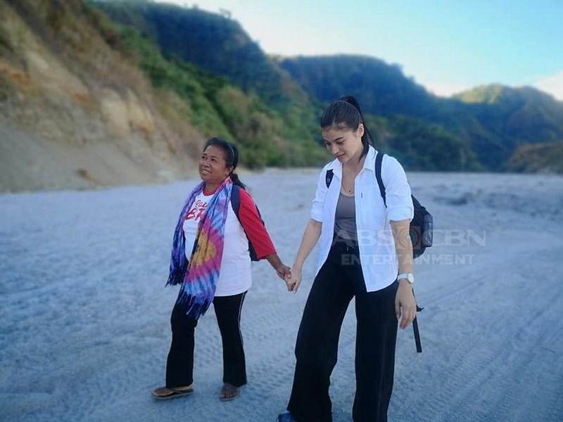 Behind-The-Scenes: Anne Curtis with Teacher Ginnie