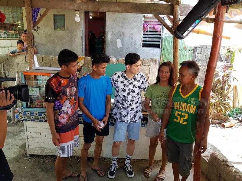 Behind-The-Scenes: Vhong Navarro with Raymart & Raymond