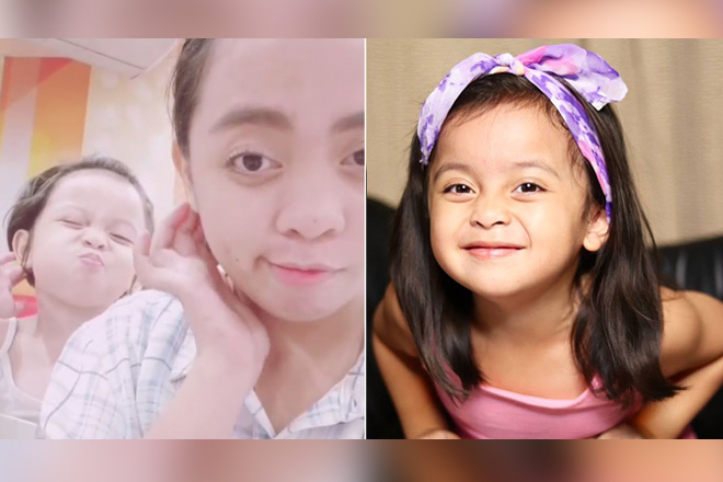 IN PHOTOS: Meet It's Showtime's Hugot Queen Donna Cariaga's MiniMe!
