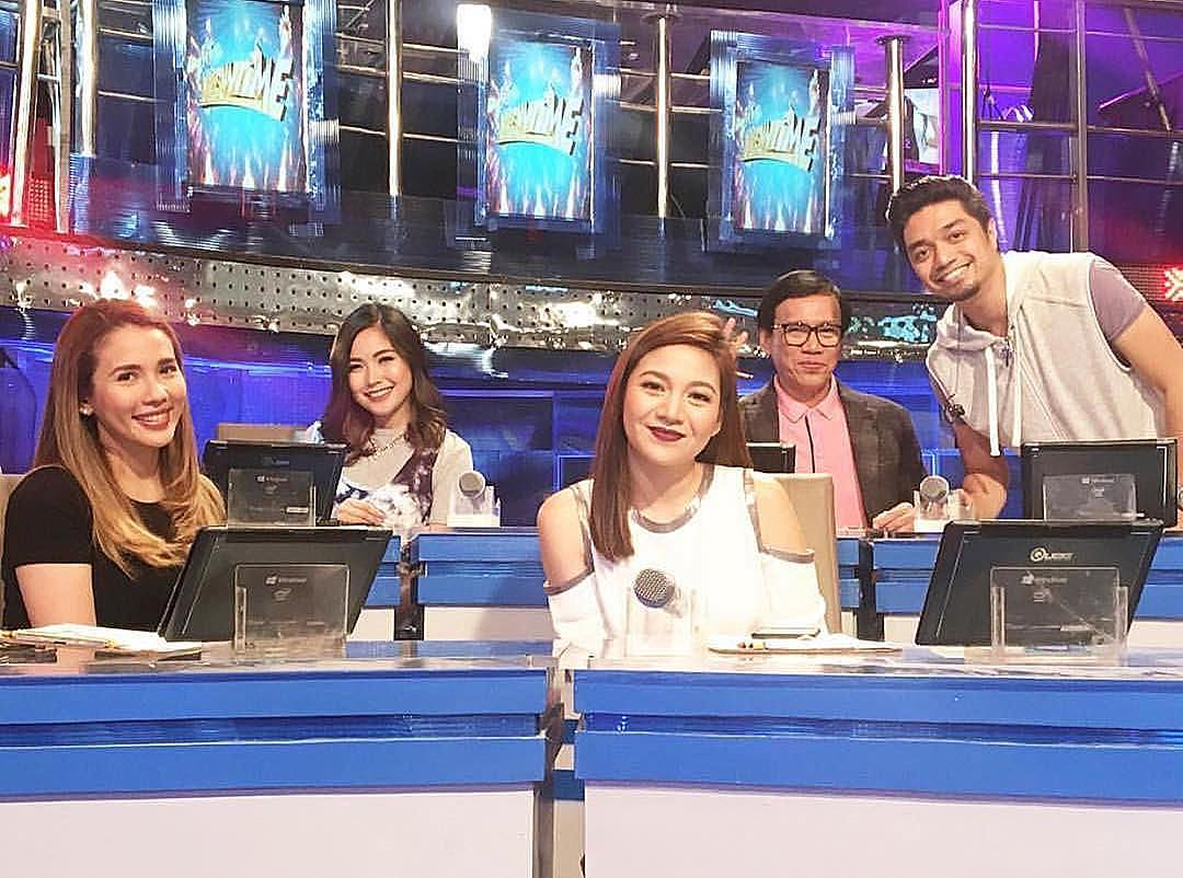 Off-Cam bonding moments of Tawag Ng Tanghalan Hurados
