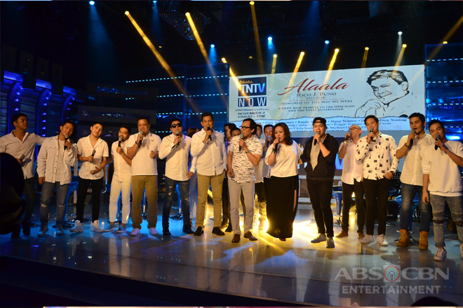 PHOTOS: TNTV Now Tribute to Rico J. Puno
