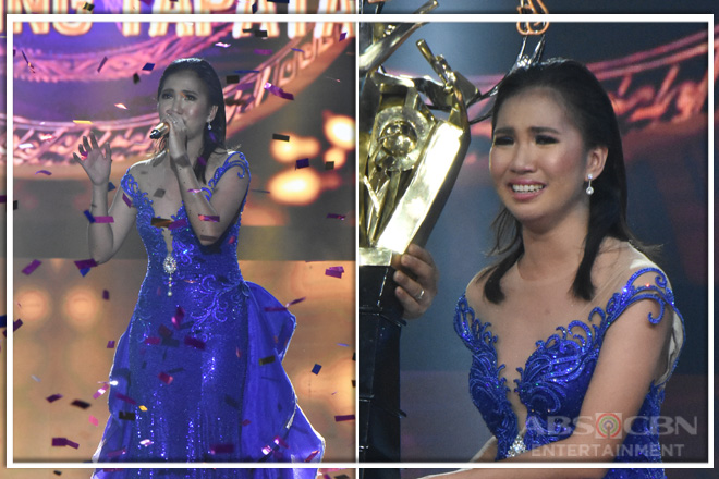 WINNING MOMENTS: Elaine Duran triumphs as Tawag Ng Tanghalan Season 3 Grand Champion