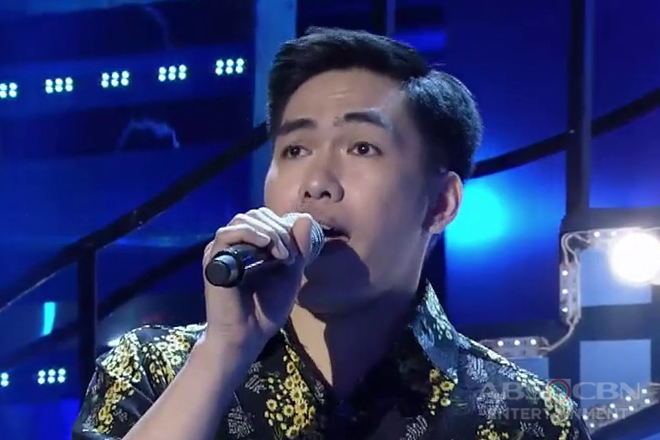 TNT 3: Metro Manila contender Alvin Andoy sings Maroon 5's She Will Be Loved