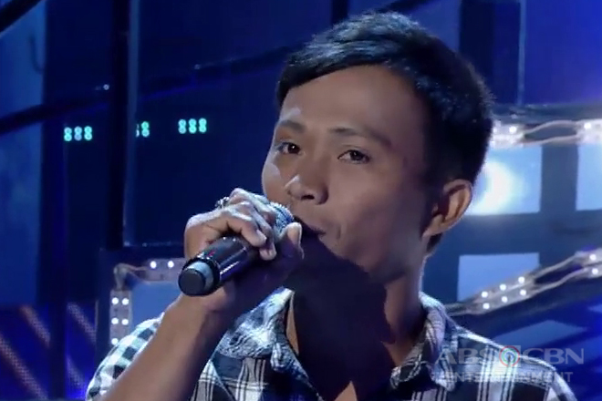 TNT 3: contender Jerry Devibar sings Aegis' I Love You Na Lang Sa Tago