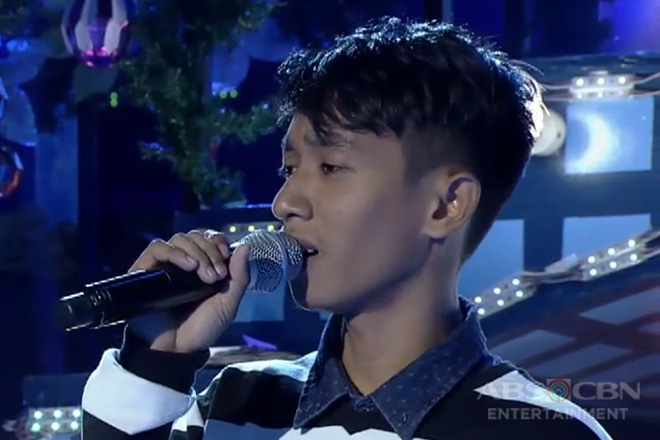 TNT 3: Visayas contender Angelo Tabaosares sings Counting Stars