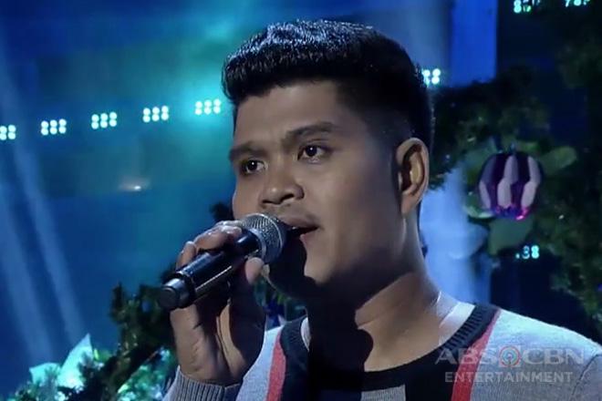 TNT: Visayas contender Ruffy Baylon sings Huwag Ka Lang Mawawala