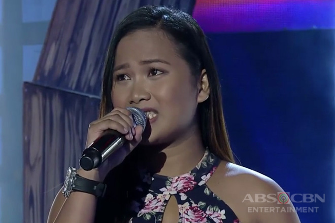 TNT 3: Mindanao contender Charizze Arnigo sings Whitney Houston's I Have Nothing