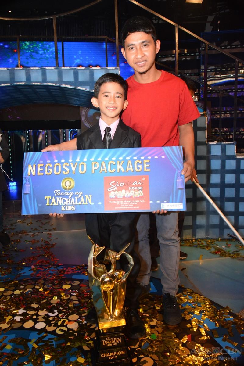 WINNING MOMENTS: Jhon Clyd Talili is Tawag Ng Tanghalan Kids Grand Champion