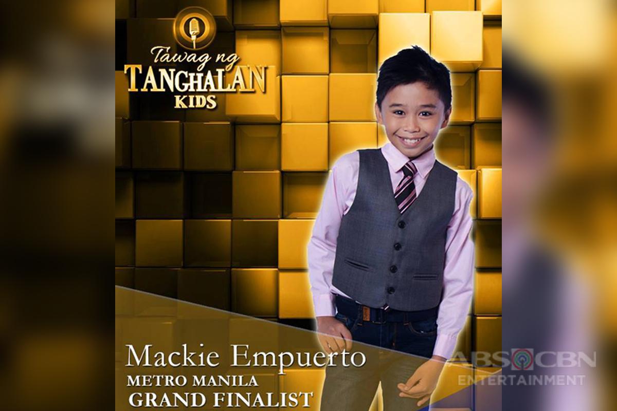 Tawag Ng Tanghalan Kids Journey: Mackie Empuerto
