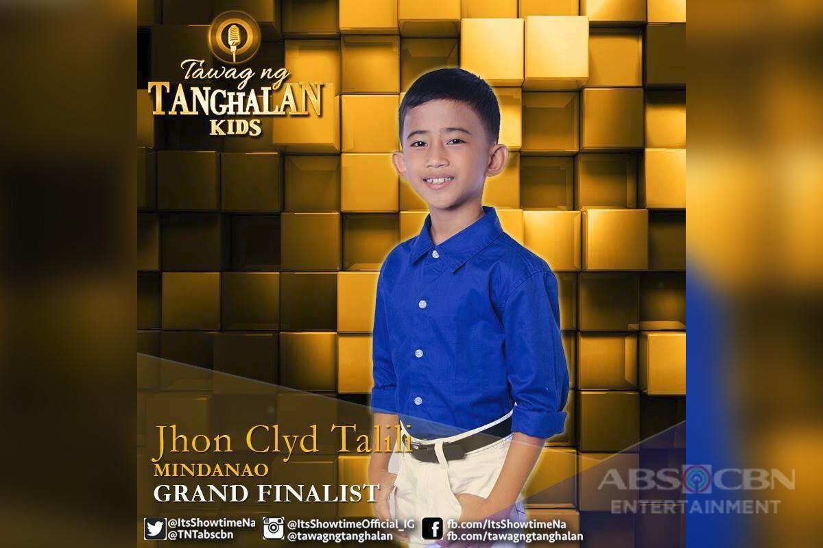 Tawag ng Tanghalan Kids Journey: Jhon Clyd Talili