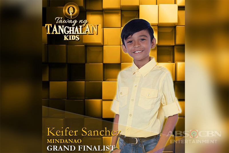 Tawag Ng Tanghalan Kids Journey: Keifer Sanchez