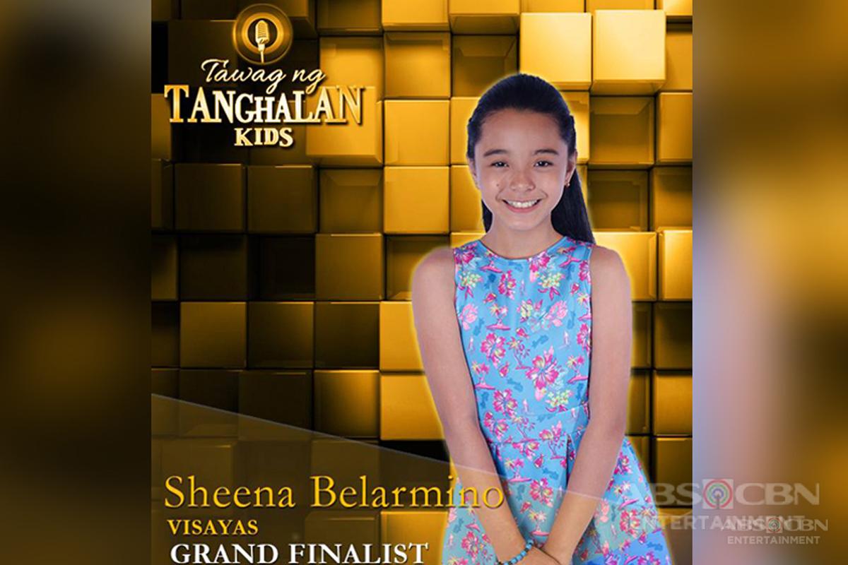 Tawag ng Tanghalan Kids Journey: Sheenna Belarmino
