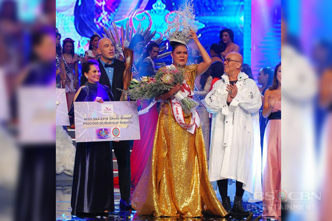 "Juliana Parizcova Segovia crowned ""Miss Q and A"" 2018"