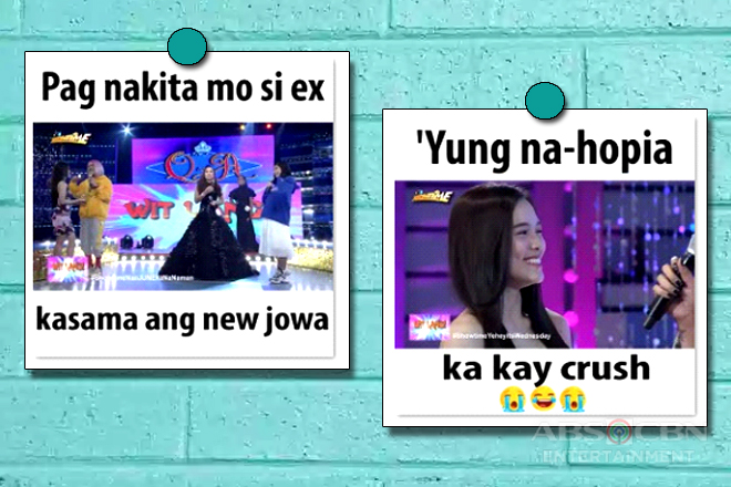 Love comes, love goes on It's Showtime with these relatable memes