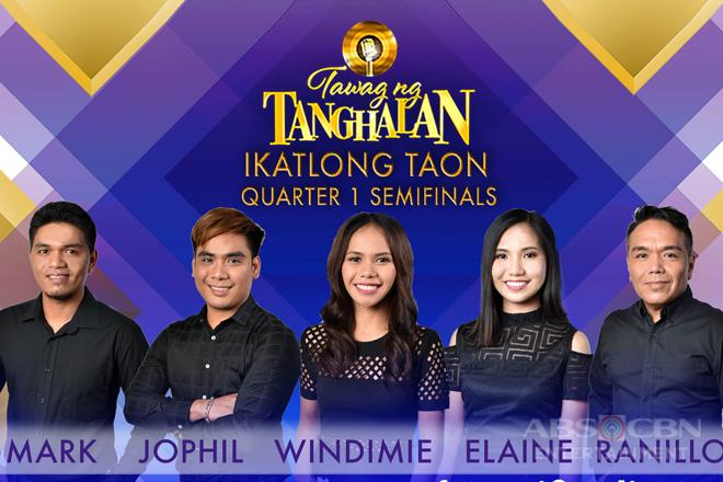 """Limang semifinalists pangmalakasan ang bakbakan sa """"Tawag ng Tanghalan"""" semifinals"""