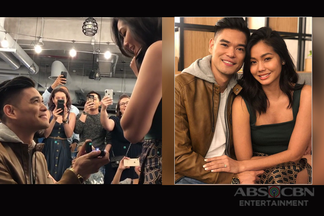 WATCH: Jay R proposes to his girlfriend Girltrend Mica