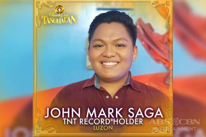 """Tawag ng Tanghalan"" names 2nd Record Holder after John Mark Saga's 10th consecutive daily win"