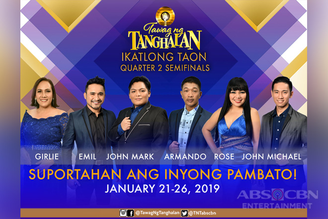 Showtime tawag ng tanghalan january 22 celebrity