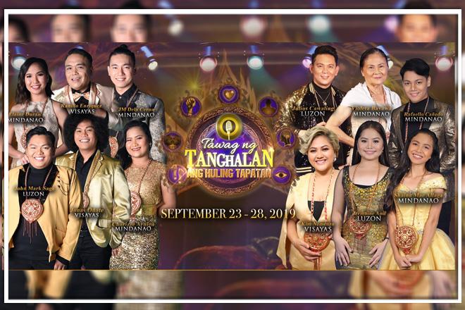 """Hukbo ng 12 singers, handa nang magbakbakan sa """"Tawag Ng Tanghalan"""" Grand Finals"""