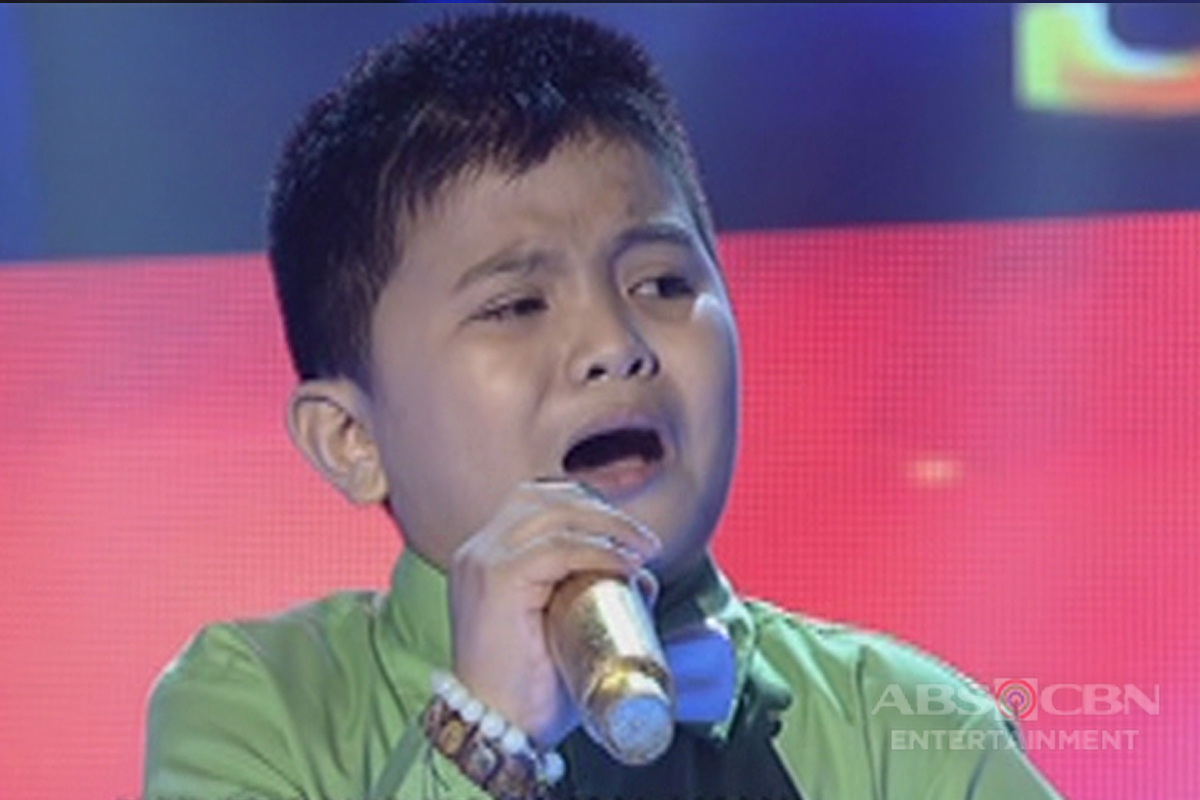 TNT KIDS SEMI FINALS: Sidro Quilicol sings