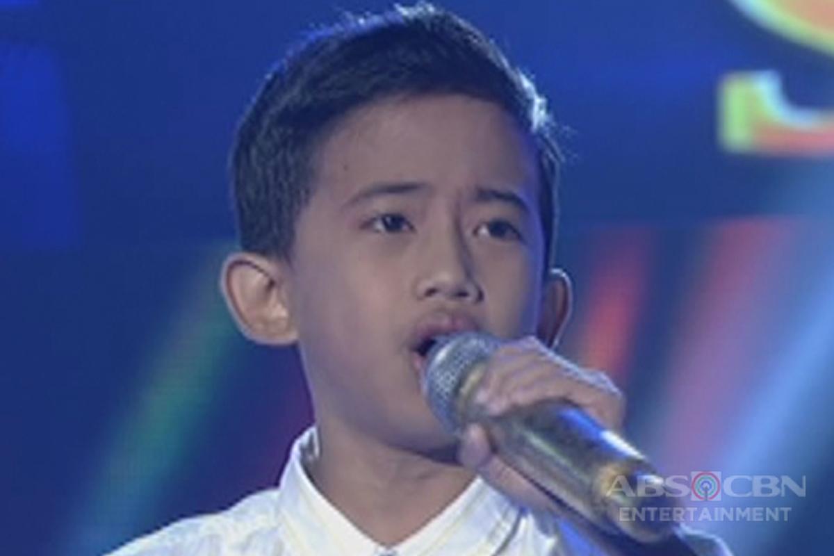 TNT KIDS SEMI FINALS: Jhon Clyd Talili sings