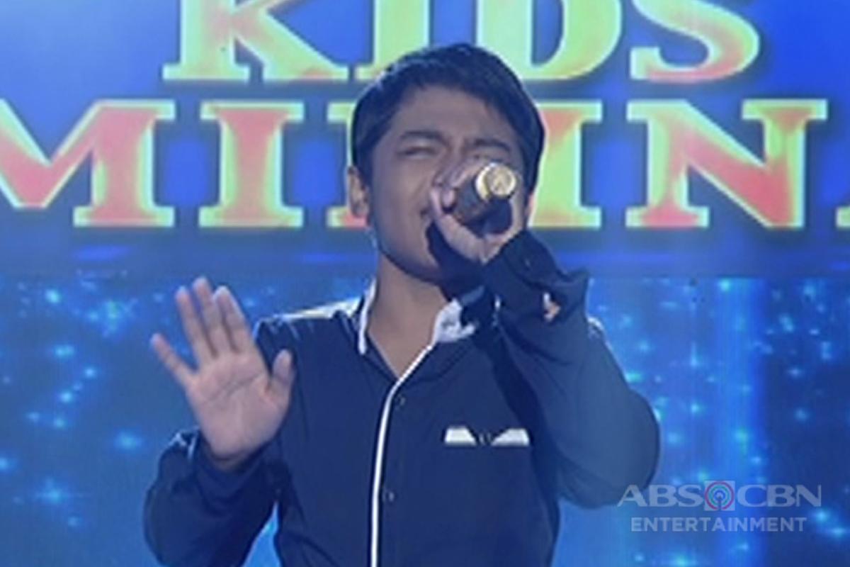 TNT KIDS SEMI FINALS: John Ramirez sings