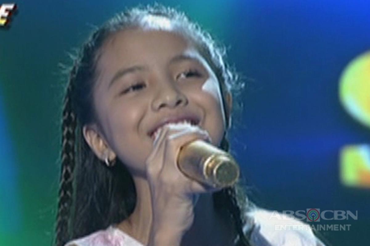 TNT KIDS SEMI FINALS: Shaina Mae Allaga sings