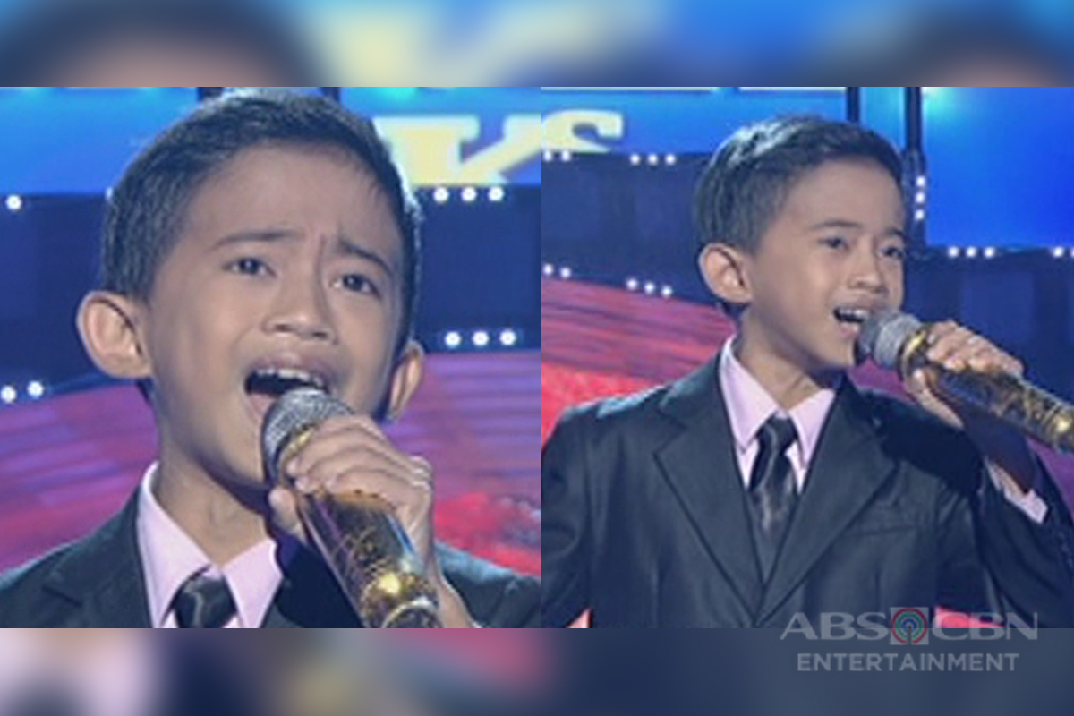 TNT KIDS GRAND FINALS: Jhon Clyd Talili sings Aerosmith's I Don't Want To Miss A Thing